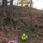 """""""Piwnica Młynkowska"""" - miejsce pochoku 11 zakładników rozstrzelanych 14 listopada 1943 roku"""