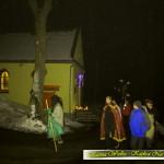 Grupa Kolędnicza z Węglówki kolędowała u Matki Boskiej Częstochowskiej w Kaplicy Na Brzegu w Kasinie Wielkiej - 28 styczeń 2017