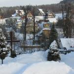 Zima w Kaplicy Na Brzegu w Kasinie Wielkiej