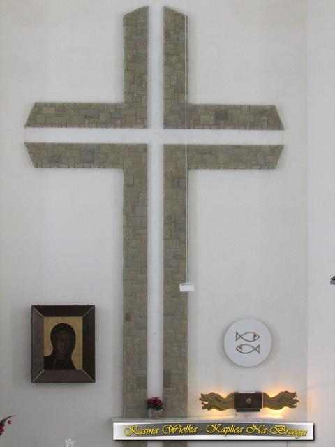 Ołtarz w nowy Kościół - Matka Boska Częstochowska - Maria Bogacz
