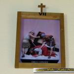 Droga Krzyżowa w Kaplicy Na Brzegu w Kasinie Wielkiej - stacja VII