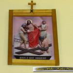Droga Krzyżowa w Kaplicy Na Brzegu w Kasinie Wielkiej - stacja X