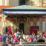 Misterium Męki Pańskiej w Kalwarii Zebrzydowskiej 2017 : Wypędzenie przekupniów