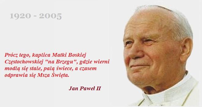 Jan Paweł II Kaplica Na Brzegu Kasina Wielka