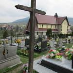 Krzyż na Cmentarzu Parafialnym na Pańskim - Część - A - B