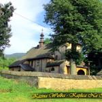Wnętrze i na zewnątrz - Stary Zabytkowy Kościół p.w. św. Marii Magdaleny w Kasinie Wielkiej