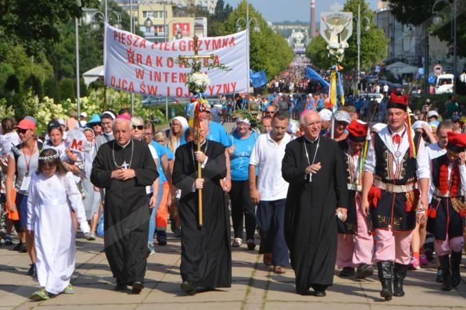 Krakowska pielgrzymka dotarła do Czarnej Madonny na Jasnej Górze