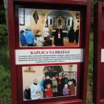 Tablice przy Kaplicy Na Brzegu