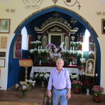 Edward Pilch mieszkający w Bielsku Białej - ofiarodawca płytek do Kaplicy Na Brzegu