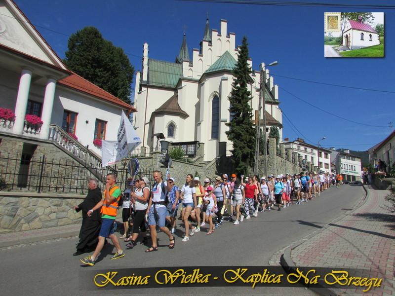 XXXVII Piesza Pielgrzymka z Dekanatu Mszana Dolna na Jasną Górę - 4 sierpnia 2017 rok