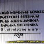 XV Ogólnopolski Konkurs Literacki 22 październik 2017