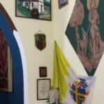 Pamiątka z wizyty bp Karola Wojtyły w Kaplicy Na Brzegu - obraz Maria Bogacz