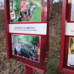 Dewastacja tablicy przy Kaplicy Na Brzegu - 12 marca 2018 rok