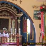 Poświęcona Palma w darze dla Matki Boskiej Częstochowskiej w Kaplicy Na Brzegu od parafianina