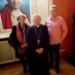 Kaplica Na Brzegu z wizytą u Metropolity Krakowskiego – doroczne spotkanie opiekunów Szlaków Papieskich - 24 marzec 2018 rok