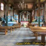 Stary Zabytkowy Kościół p.w. św. Marii Magdaleny w Kasinie Wielkiej – lipiec 2018 rok