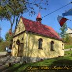 Kaplica na zewnątrz - Październik 2018 rok