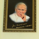 Pamiątki związane ze św. Janem Pawłem II w Kaplicy - bł. Jan Paweł II