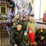 Grupa z Konstantynowa Łódzkiego w Kaplicy Na Brzegu 1 styczeń 2019 rok