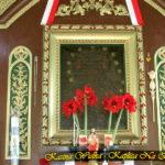 Róża wotywna w Kaplicy Na Brzegu