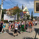 XXXIX Piesza Pielgrzymka z Dekanatu Mszana Dolna na Jasną Górę - 4 sierpień 2019 rok
