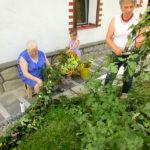 Tradycyjne wicie wianka odpustowego na wejście do Kaplicy - 26 sierpnia 2019 rok odpust w Kaplicy Na Brzegu