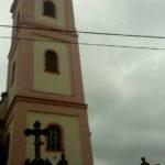 Kościół w Bożkowie widok od wejścia