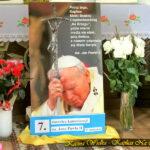 7. rocznica kanonizacji św. Jana Pawła II w Kaplicy Na Brzegu
