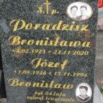 Ś.P.  Józef i Bronisława Poradzisz
