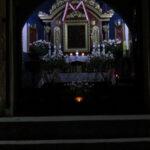 Kaplica Na Brzegu nocą